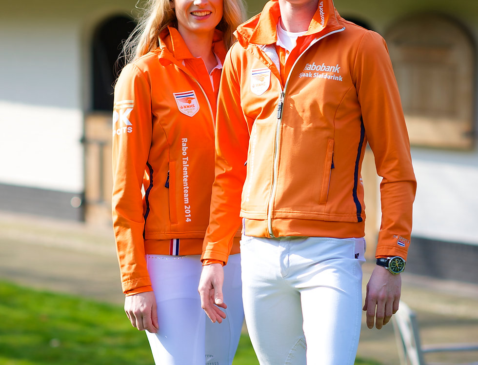 PK Oranje Line Softshell Dames