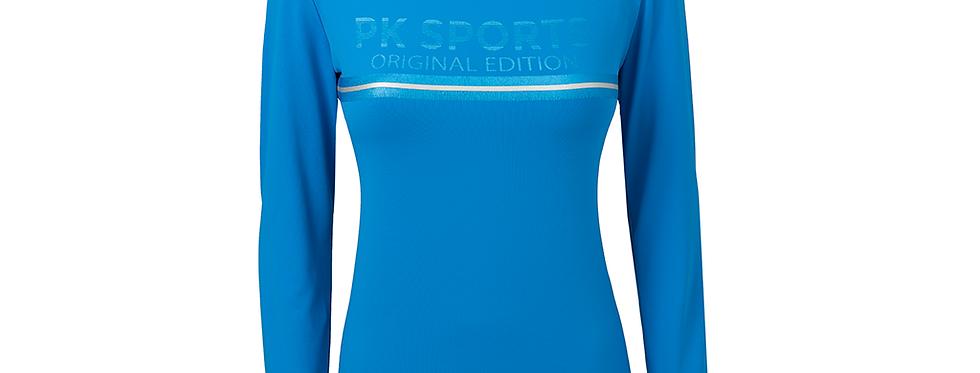 Technisch Shirt Inferno Palace Blue