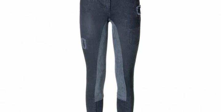 Rijbroek Ivy Full Seat Black Jeans