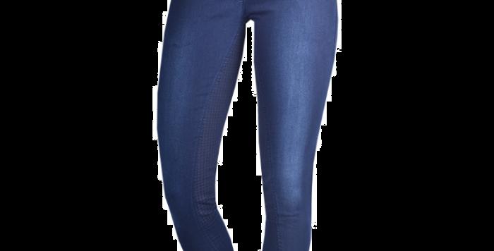 Rijbroek Allura jeans Blue