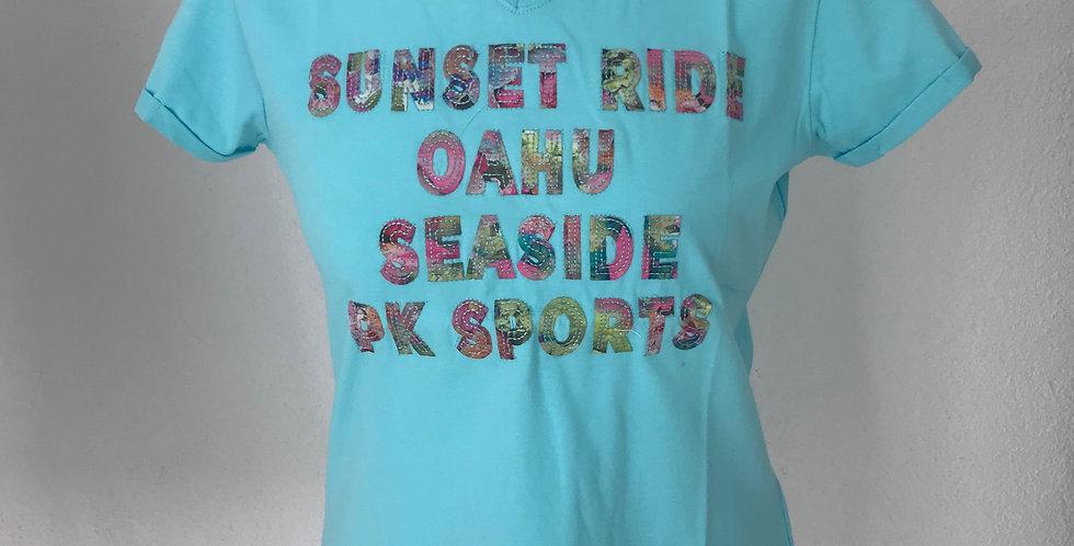 T-Shirt Graziano Aqua