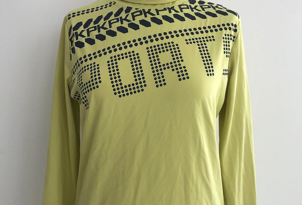 Technisch Shirt Melody Lime