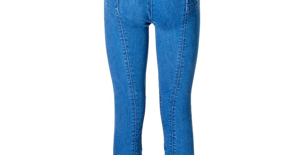 Rijbroek Ivy Full Seat Blue Jeans