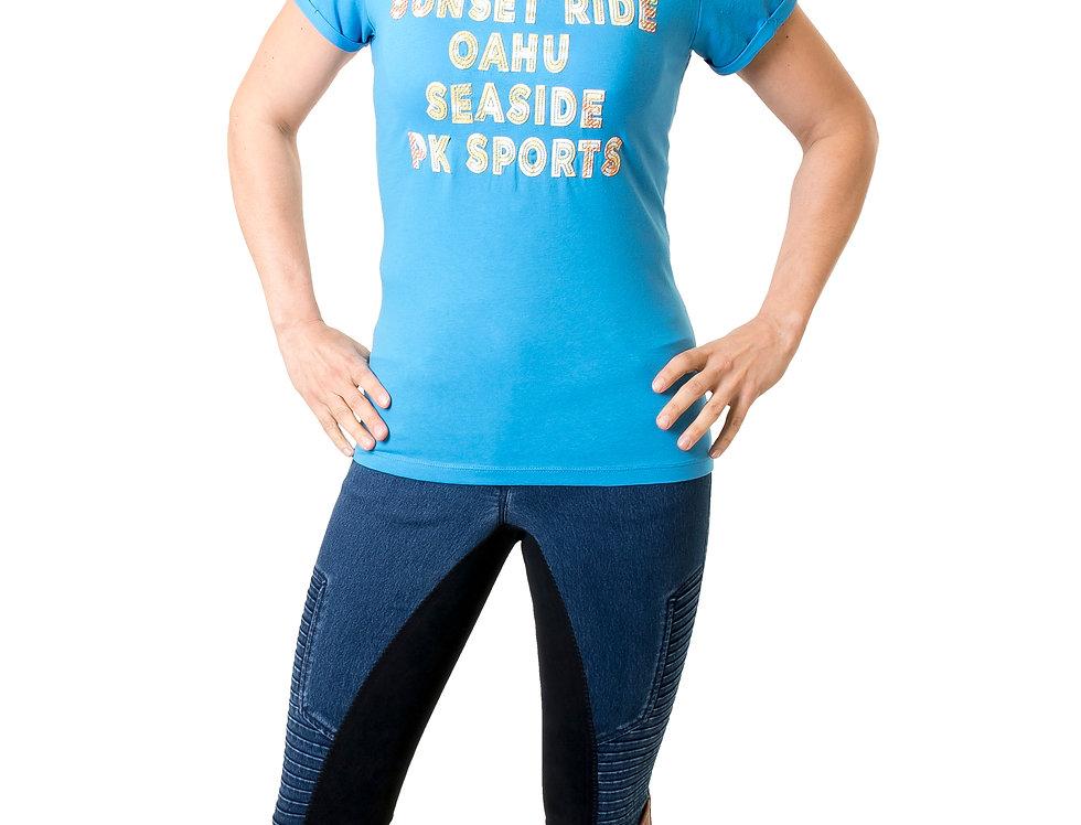 T-Shirt Graziano French Blue