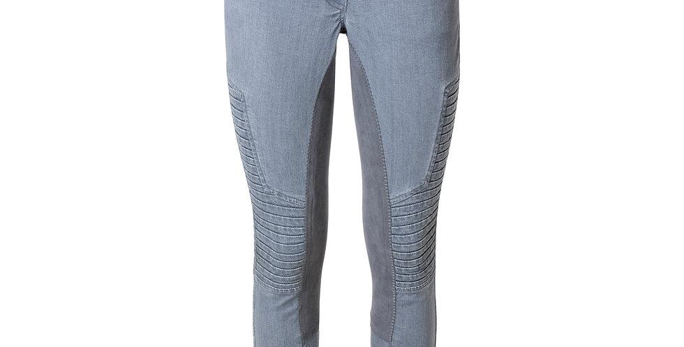 Rijbroek Avatar Full Seat Grey Jeans