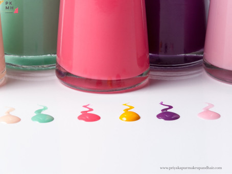 NAIL POLISHES FOR MONSOON