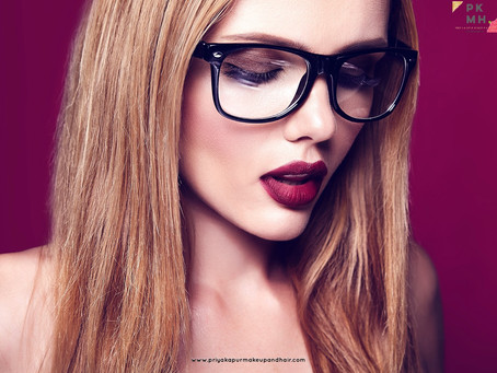 Eye Makeup for Spectacle Wearers