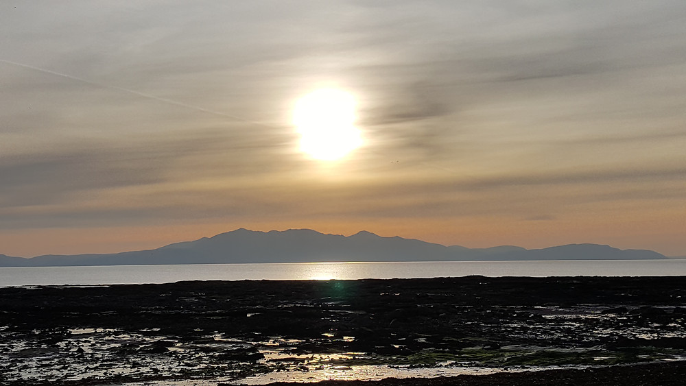 The mystical Isle of Arran on the West coast of Scotland