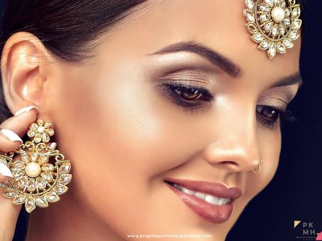Makeup for Rakshabandhan