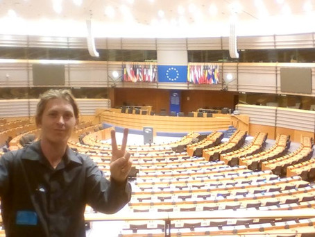 Getting to Europe, a conference at Parliament with Missing Children Europe, and the Runaway Helpline