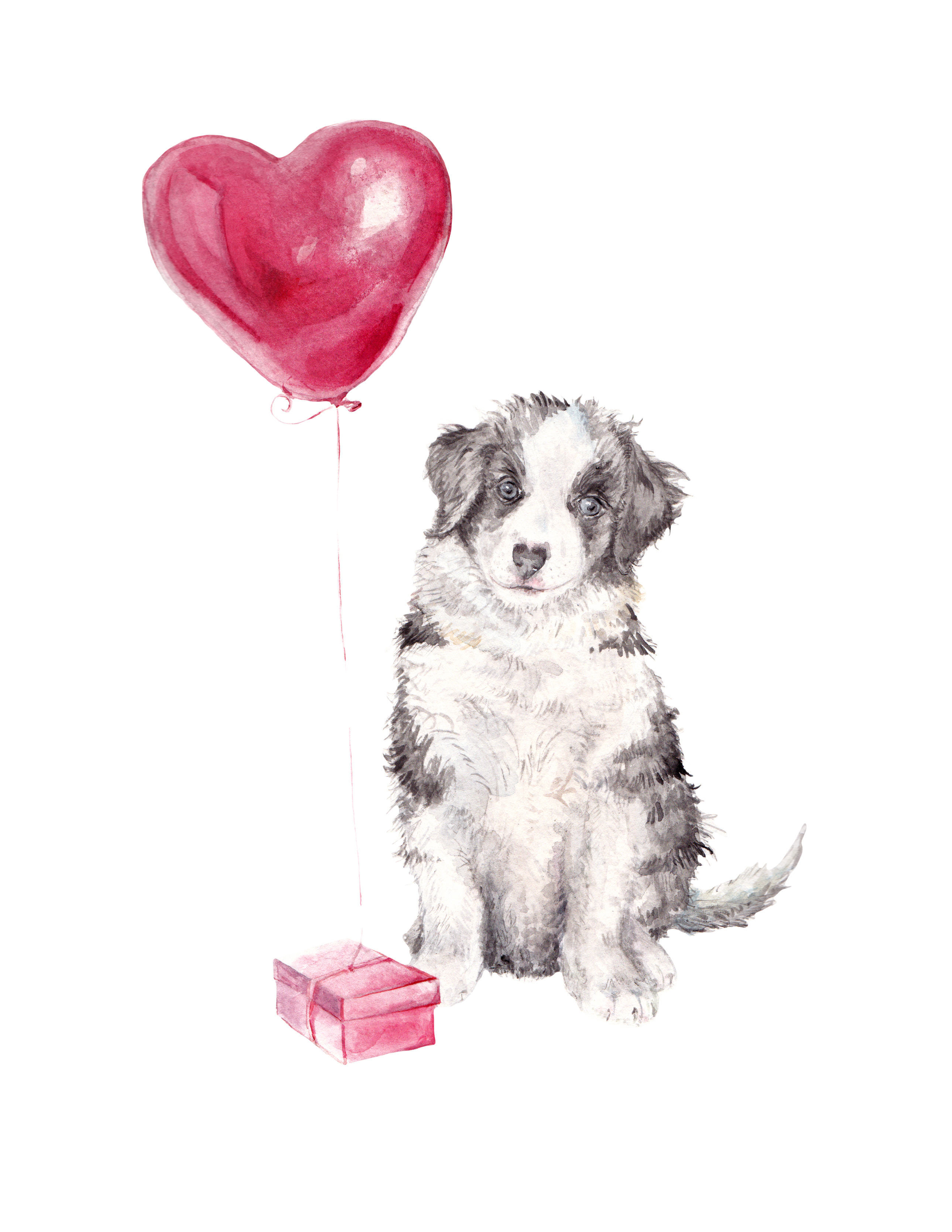 puppy balloon