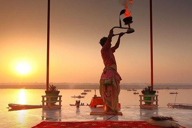 Spiritual tour in India