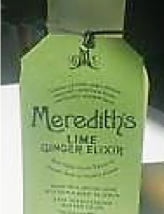 Meredith's Lime Ginger Elixir