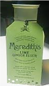 Meredith's Lime Ginger Elixir