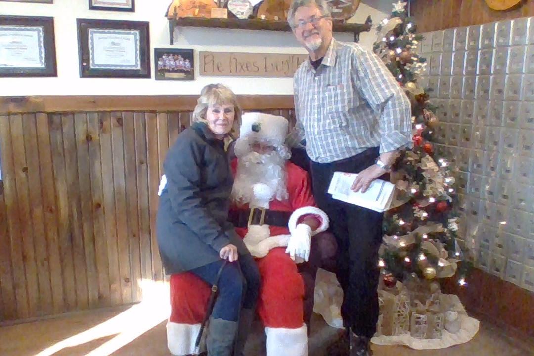 Williamsford Pie Company Santa Day