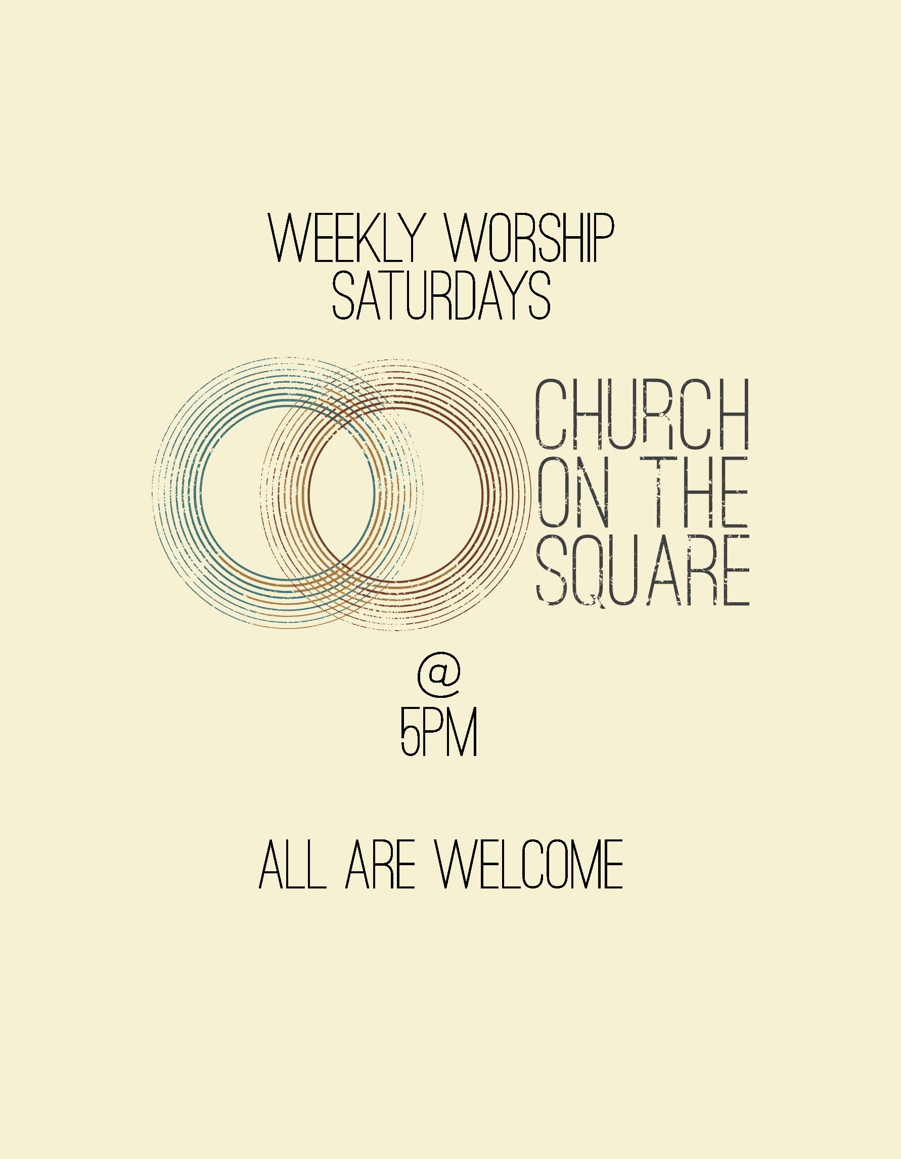 Weekly Worship - Sat
