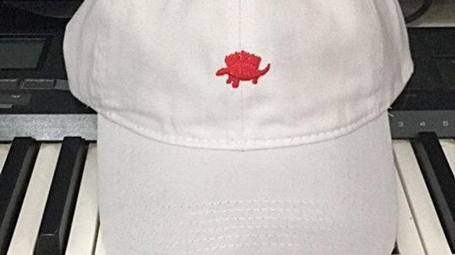 White / Red Dad Hat