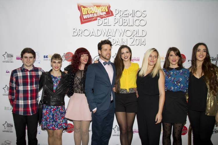 TARZÁN, EL MUSICAL.GALA PREMIOS BROADWAY WORLD SPAIN 2014