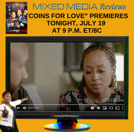 "DON'T MISS THE PREMIERE OF TV ONE'S ORIGINAL ROMANTIC DRAMA ""COINS FOR LOVE"" TONIGHT!"
