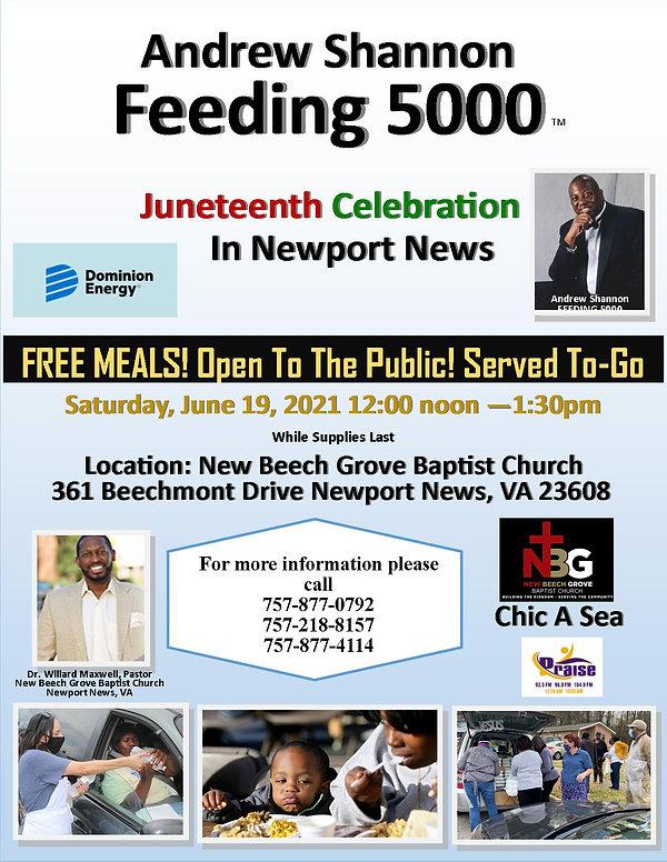 FEEDING 5000 FLYER NEW BEECH GROVE