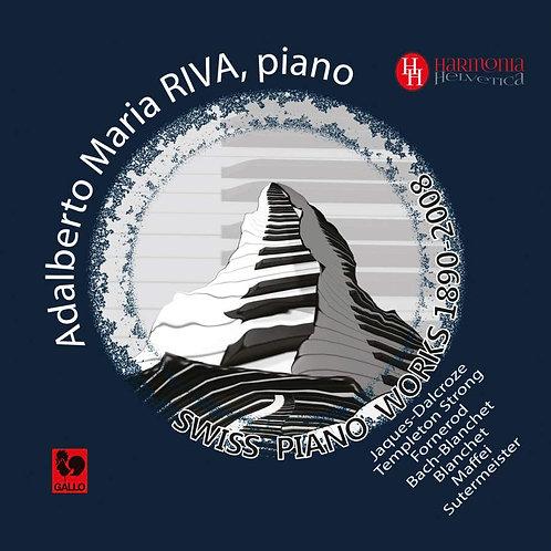 Swiss piano works 1890- 2008 - Première mondiale
