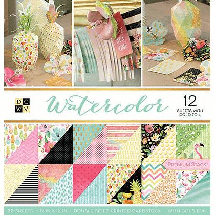 Watercolor - Block 12 x 12