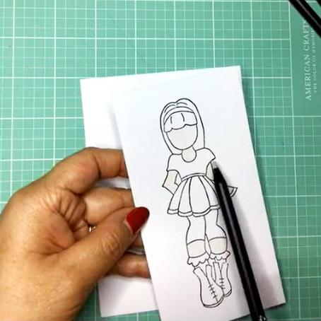 Tutorial: Pintamos dolls con Patricia Lizárraga