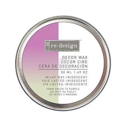 Decor wax - Cera de decoración - Milky way Iridescent