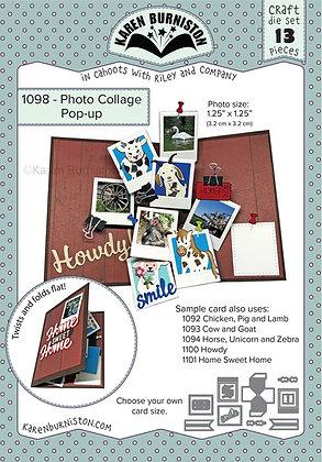 Photo Collage pop-up - Sistema de troqueles Collage de fotos