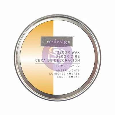 Decor wax - Cera de decoración - Amber light
