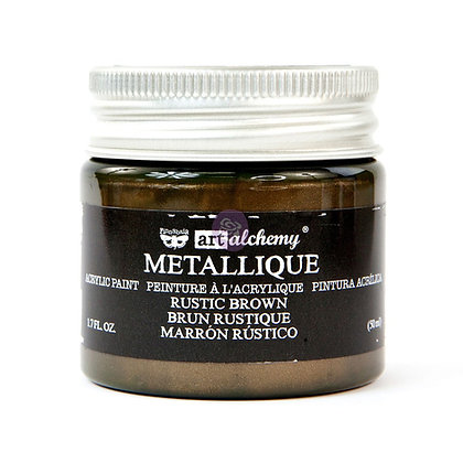Acrylic paint Metallique - Rustic brown