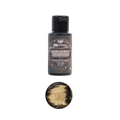 Acrílico líquido - Burnt sienna - Pintura acrílica