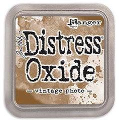 Distress oxide - Vintage photo - Tinta distress