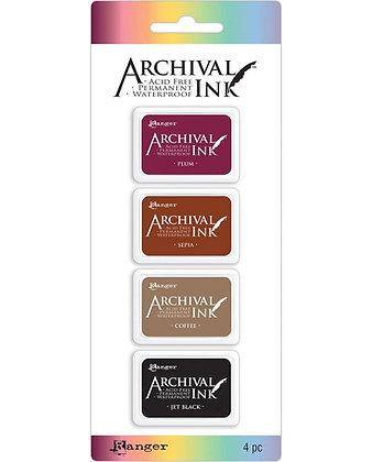 Mini archival - Set Plum