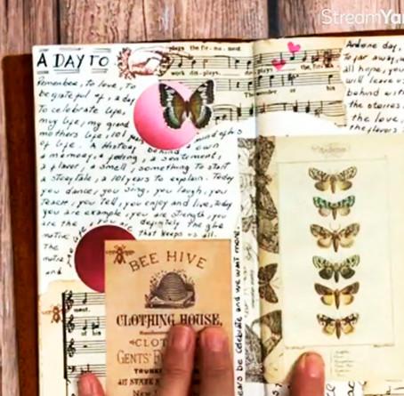 Conversamos: ¿Qué es un Art journal? con Ely Su Palacios