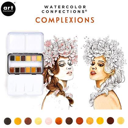 Acuarelas - Watercolor Confections Complexions
