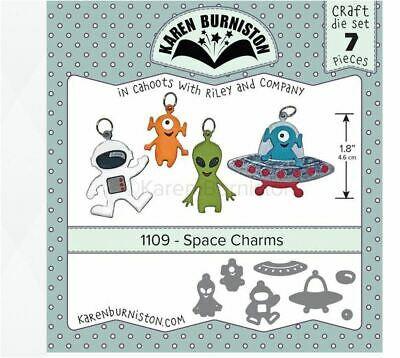Space Charms - Troquel Amuletos del espacio