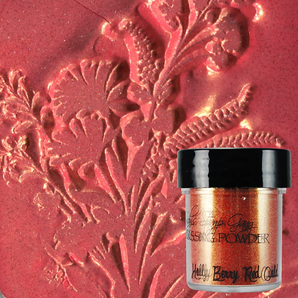 Polvo embossing - Jelly Berry Red Gold