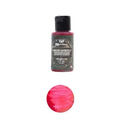 Acrílico líquido - Magenta - Pintura acrílica