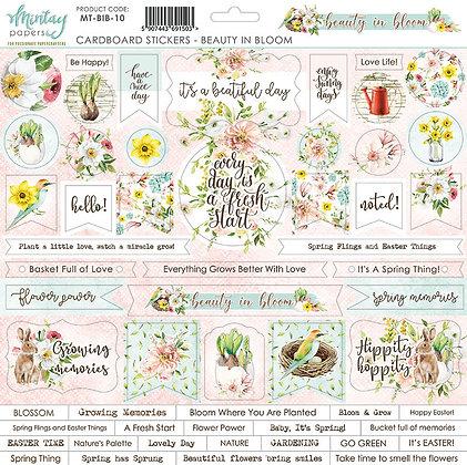 Chipboard - Beauty in Bloom