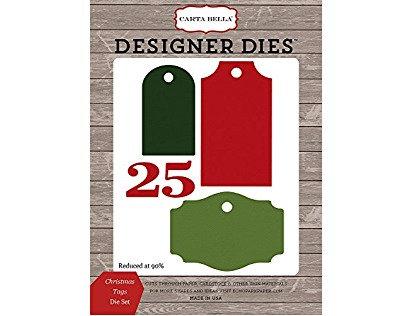 Designer dies - Troqueles Christmas tags