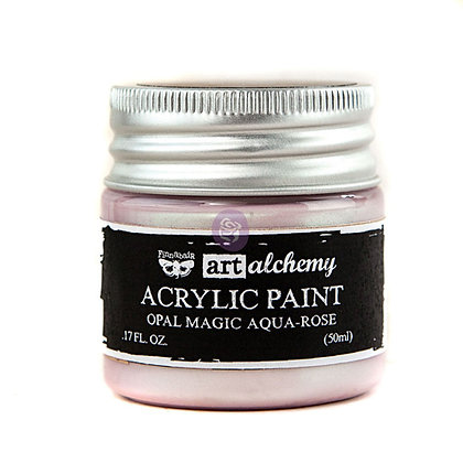 Acrylic paint Opal magic - Aqua-rose