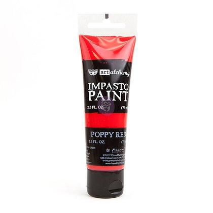Impasto - Poppy red