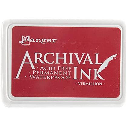 Tinta Archival - Ink Vermillion