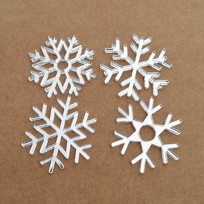 Copos de nieve - Metacrilato
