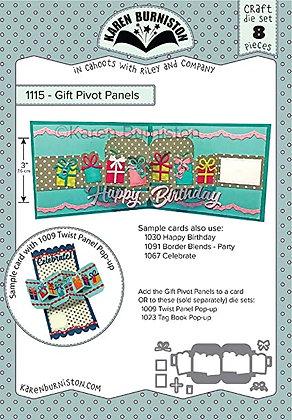 Gift Pivot Panels pop-up - Sistema de troqueles Paneles de regalos