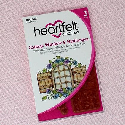 Sello Cottage Window & Hydrangea