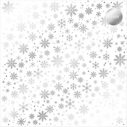 Acetato foil - Snow flakes