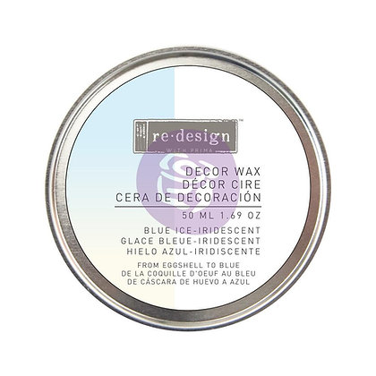 Decor wax - Cera de decoración - Blue ice Iridescent