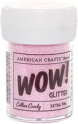 Wow! Extrafine glitter pink - Brillantina